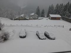 Wintereinbruch am Abreisetag