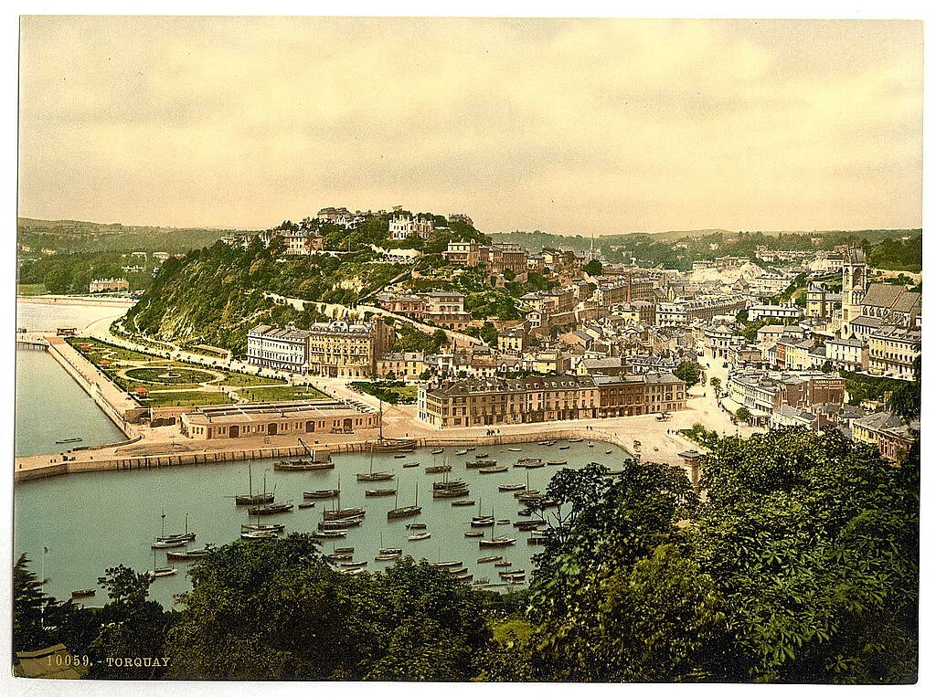 From the hill, Torquay, Devon
