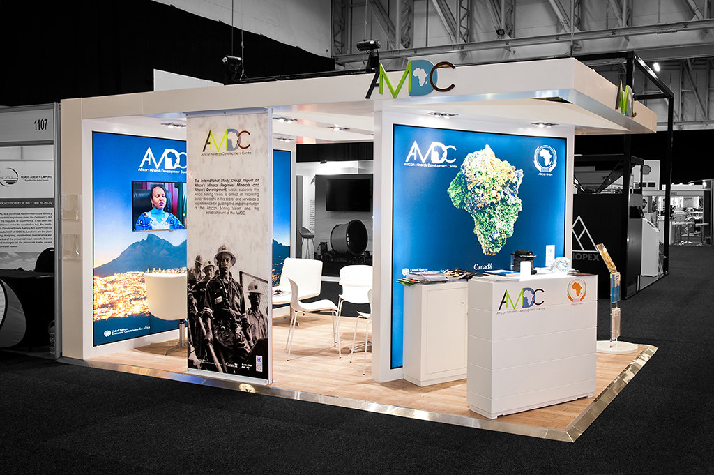 Exhibition Stand Sketchup : Amdc custom build hott d mining indaba