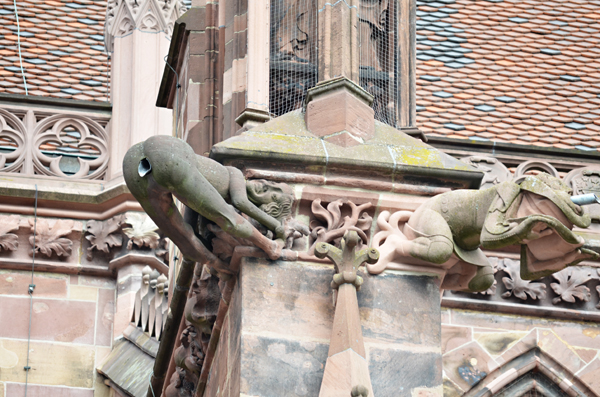 Irreverent Gargoyle, Münster, Freiburg, Germany