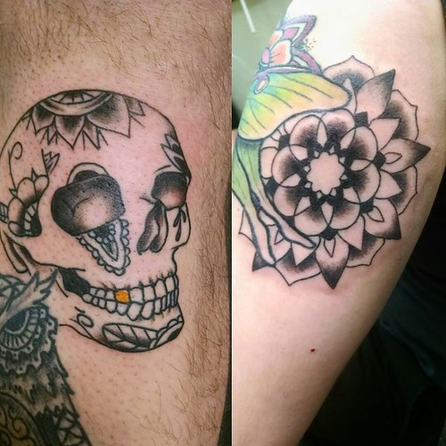 Did these 2 tattoos tonight part of the for Where do tattoos come from
