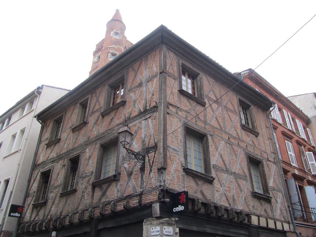 Edificio medieval Toulouse