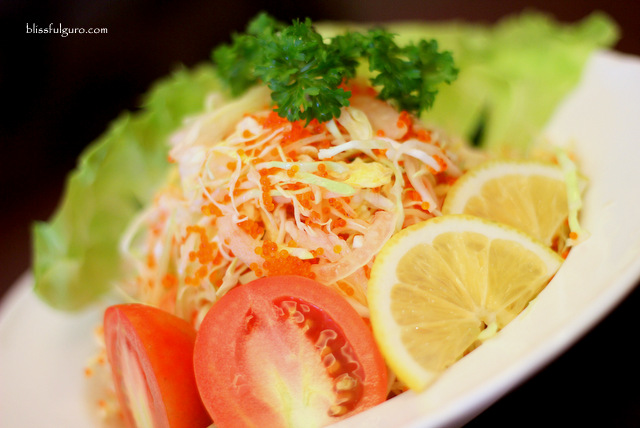 Cafe Kyoto Balanga Bataan Kani Toniko Salad