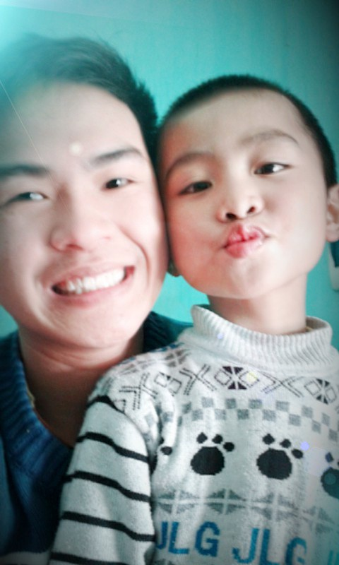 My nephew: Quang