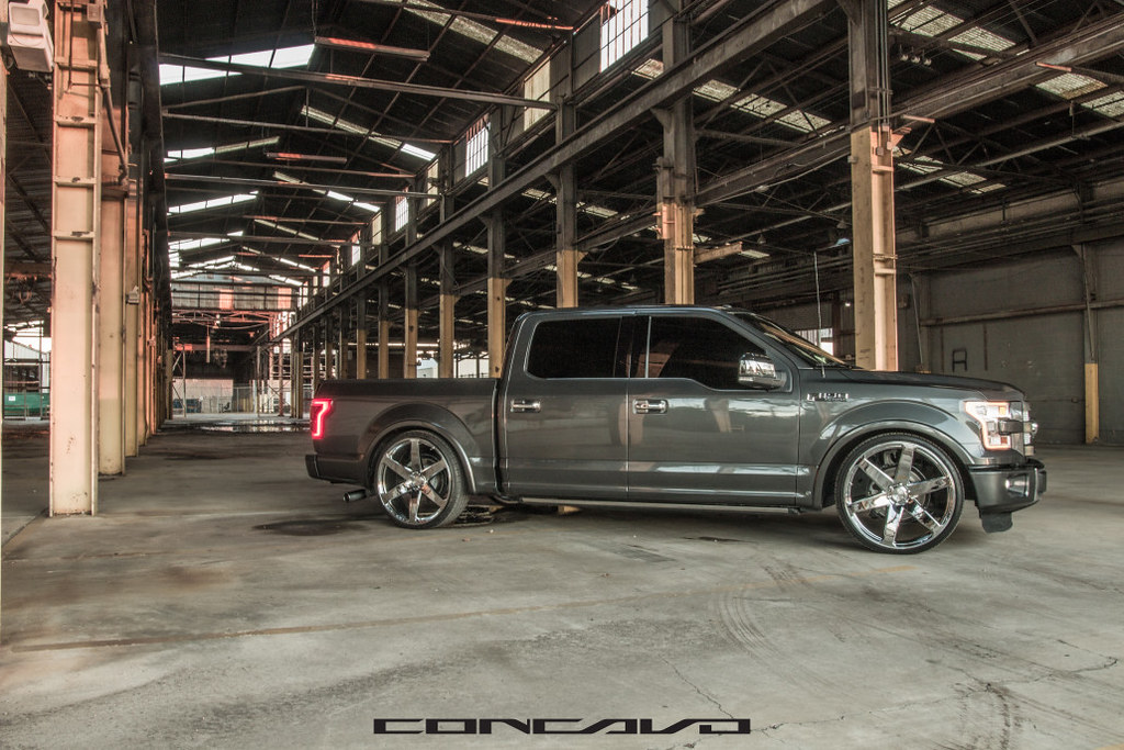"Ford F150 Wheels >> Ford F150 Platinum on 26"" CW6 Chrome 