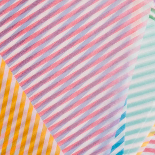 striped origami paper