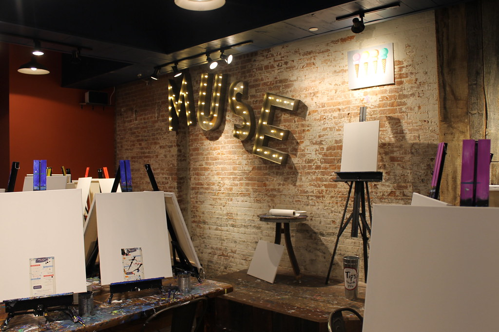 Manhattan Elite Event Muse Paintbar Yelpers Had A