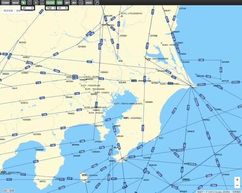 使用simbrief com的地图查航路和航路点- 自娱自乐航空迷