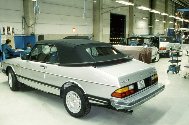One 900 Cabrio from the First Batch of 400 Saab 900 Cabrios