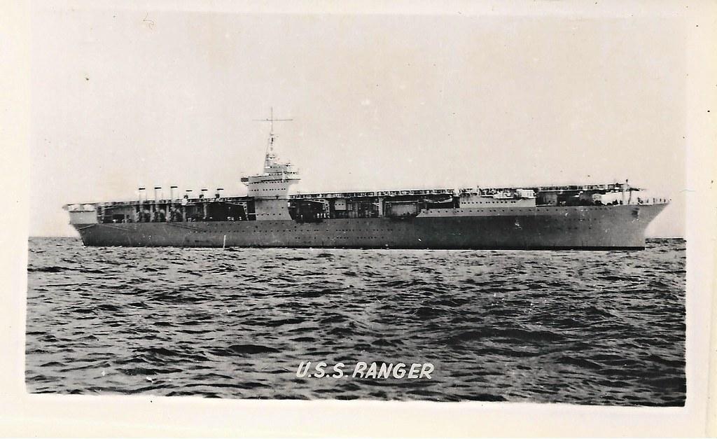 uss ranger  cv