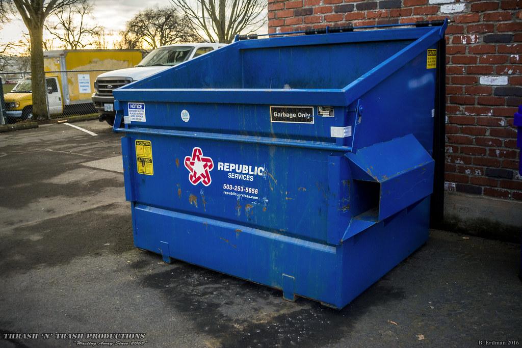 Republic Services | 4-yard front load dumpster Republic ...