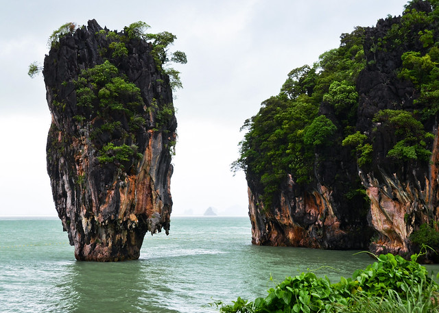 Isla de Ko Tapu, la isla de James Bond en Tailandia