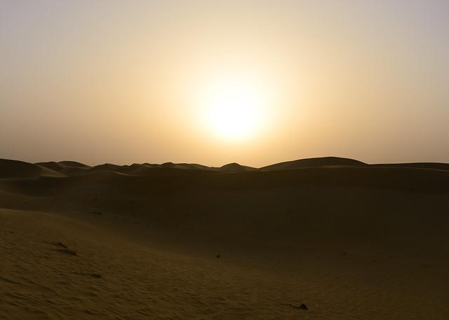 La magia del desierto de Abu Dhabi