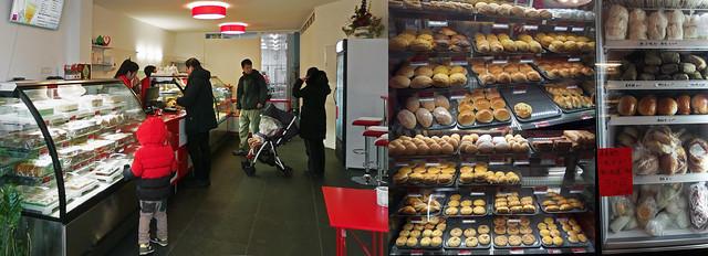 Chinese bakker QQ Bakery in Rotterdam