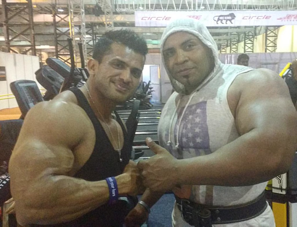 With d big man Yugant Shinde @bodypowerindia #Neulife #Neu