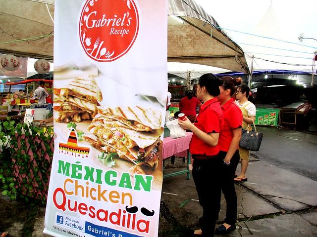 Gabriel's Mexican chicken quesadillas 1