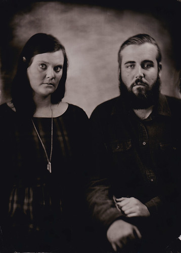 Nashville tintype portrait photography