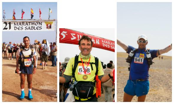 Παπαθανασόπουλος, Αρδαβάνης και Τσιάνος, η Ελληνική ιστορία του Marathon des Sables