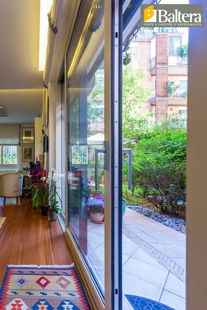 Porta finestra scorrevole dettaglio maniglia baltera porte e finestre flickr - Baltera srl unipersonale porte e finestre ...