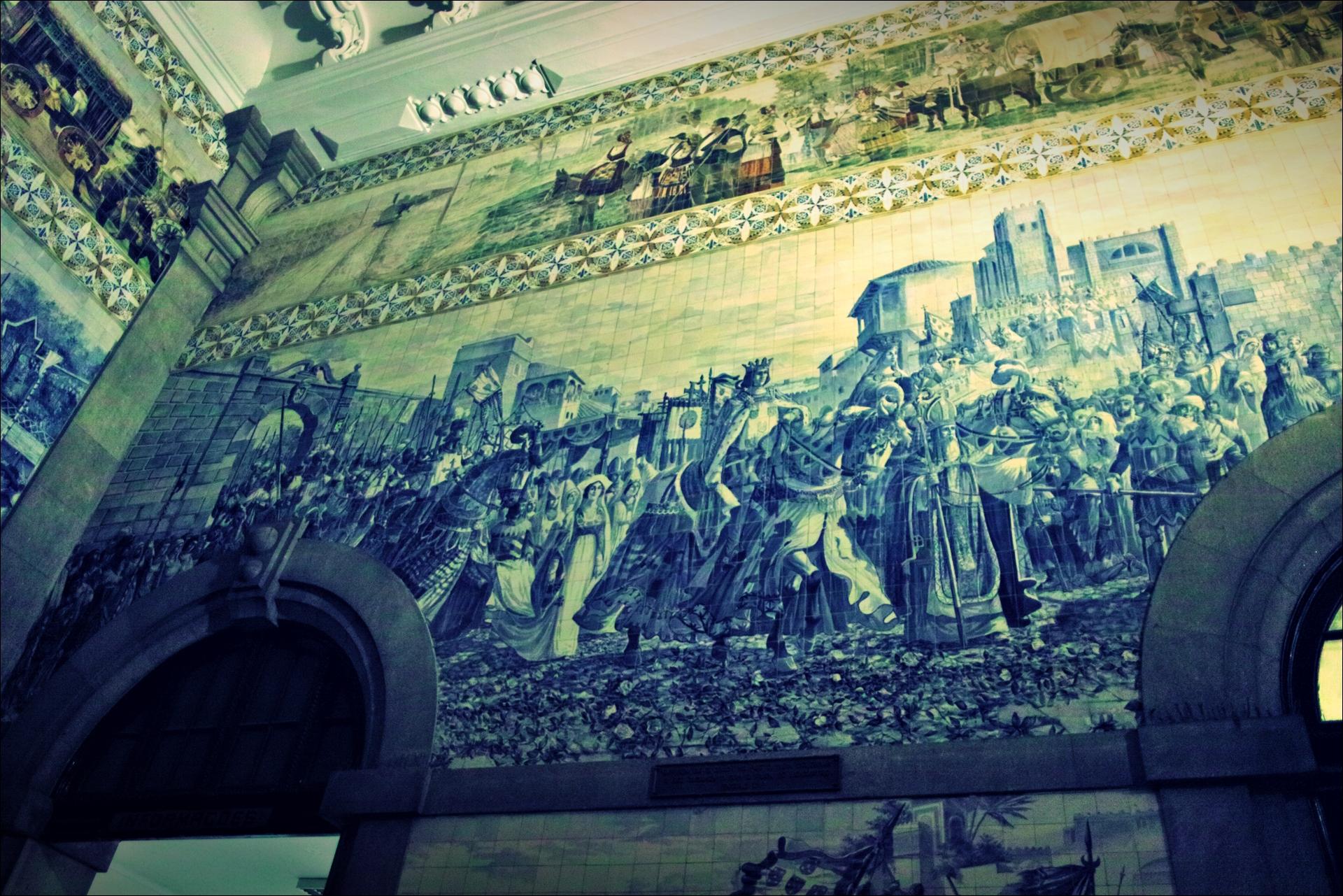 상벤투 Sao Bento 기차역-'포르투 둘러보기 porto sightseeing'