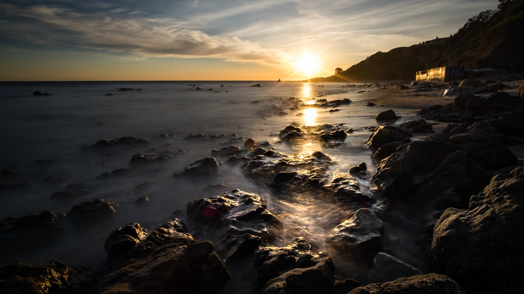 El Pescador State Beach - Malibu, California - Seascape photography