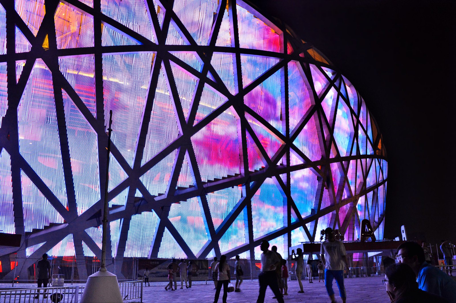This is the beijing olympic park today roselinde on the road for Ai weiwei bird s nest stadium