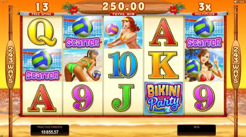 Bikini Party Bonus Feature