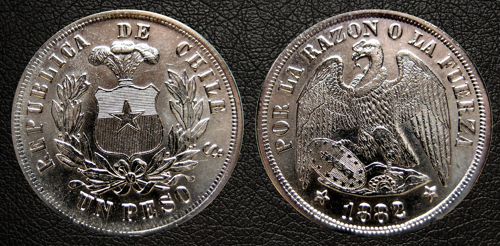 1 Peso 1882 Chile 24931959146_821c3c9bf1_b