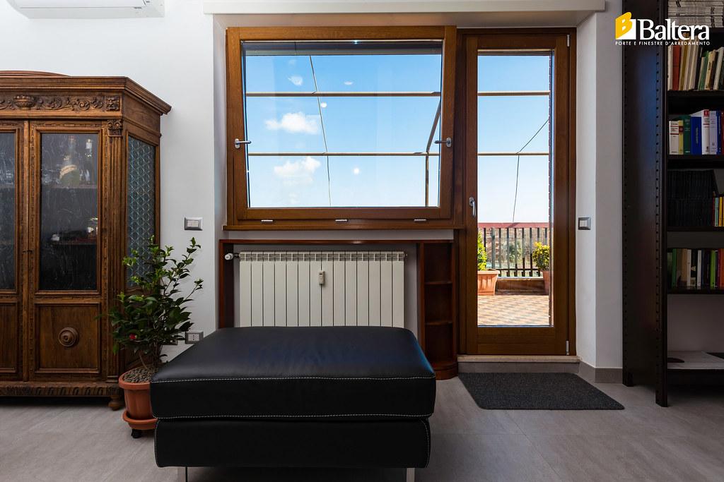 Porta finestra legno 2 baltera porte e finestre flickr - Baltera srl unipersonale porte e finestre ...