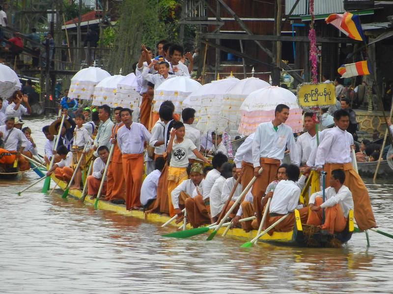 Мьянма фестивалит