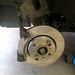New Brake Disc in place
