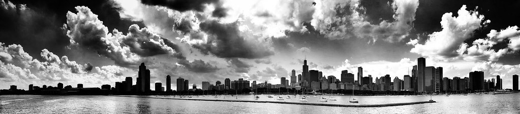 Ning Gu - Cloudy Chicago