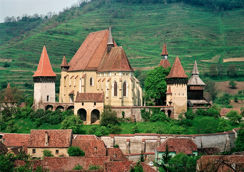 Pueblos sajones Rumania