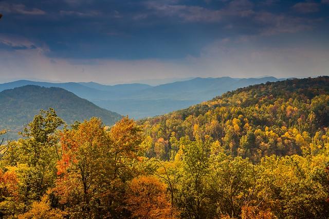 Fall in Virginia's Blue Ridge