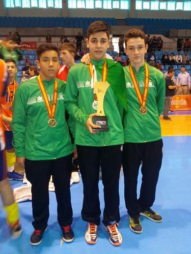 AionSur 26173965881_e347f2ce85_d Tres jóvenes del CV Arahal se proclaman campeones de España con Andalucía Deportes