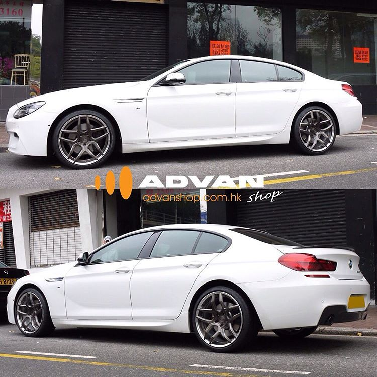 Bmw 640i Gran Coupe With Bc Forged Ht53 Wheels 2piece Forg