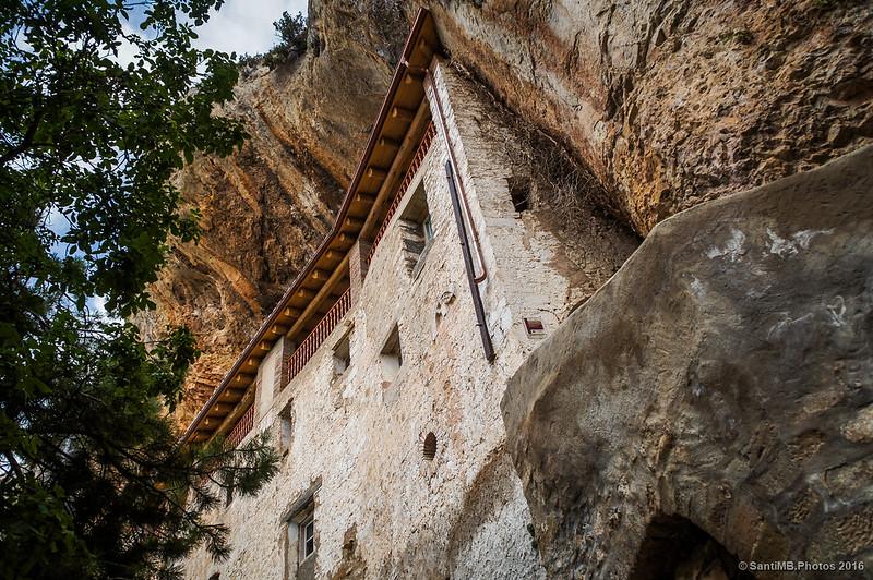 La Casa del Santero desde abajo