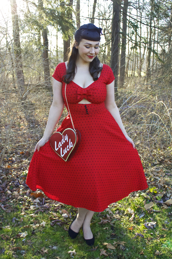 tatyana shame swing dress red