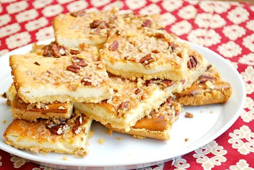 Praline Cheesecake Bars