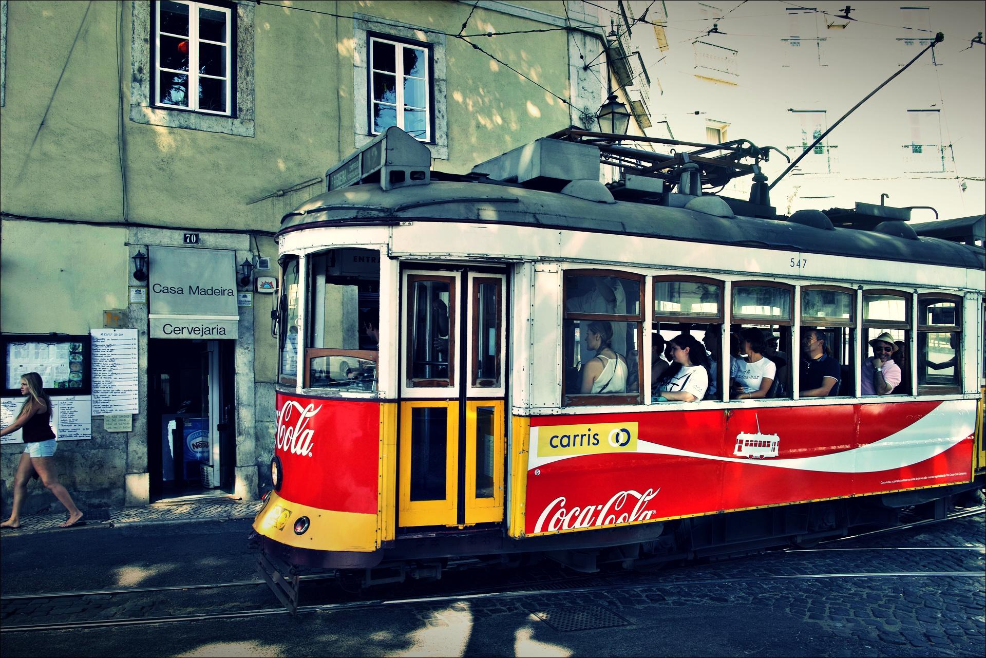 코카콜라 트램-'리스본 Lisbon'