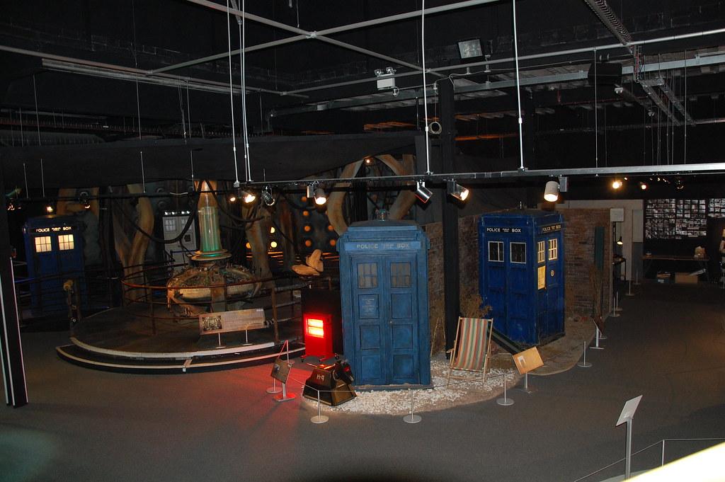 Tardis y consola de la tardis del decimo doctor