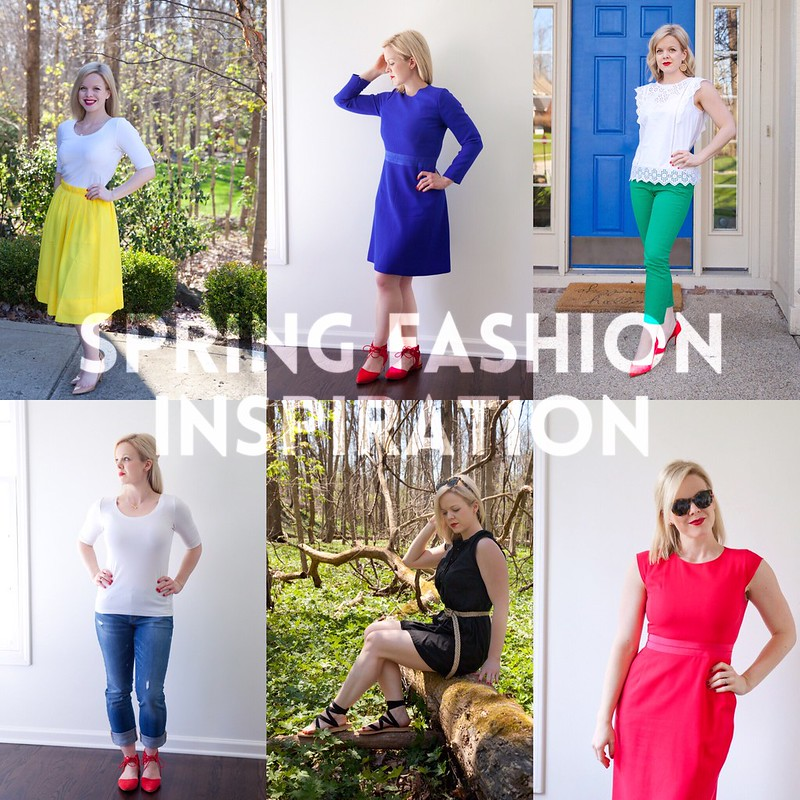 Outfits I'm Loving Lately: Spring Fashion Inspiration (+ a Giveaway!)