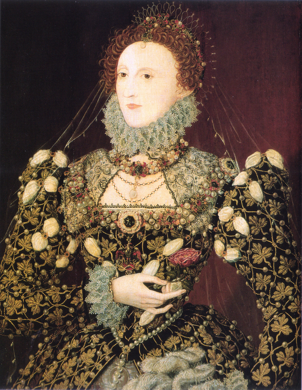 The 'Phoenix Portrait', attributed to Nicholas Hilliard, c. 1575
