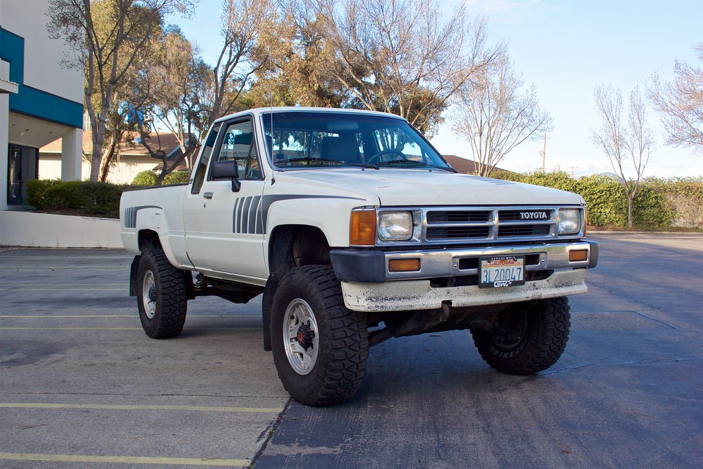 1988 Toyota Pickup Sr5 Xtracab 4wd 4cyl 5 Speed Etc Barf Bay Area Riders Forum