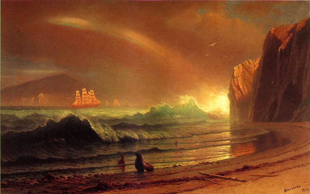 The Golden Gate by Albert Bierstadt, 1900