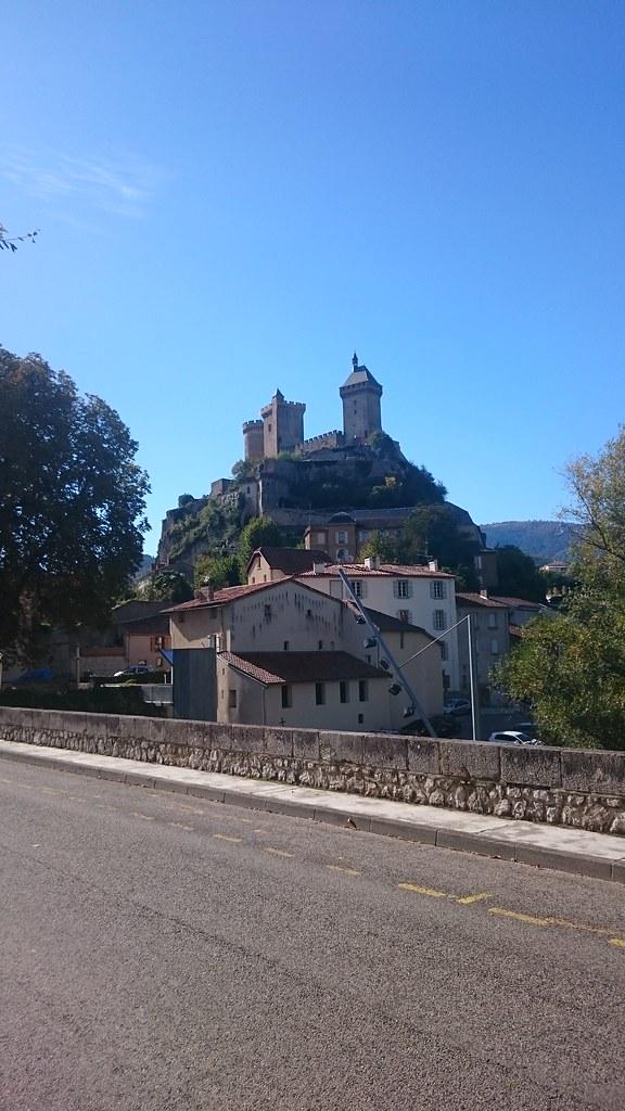 Castillo de Foix desde el Puente