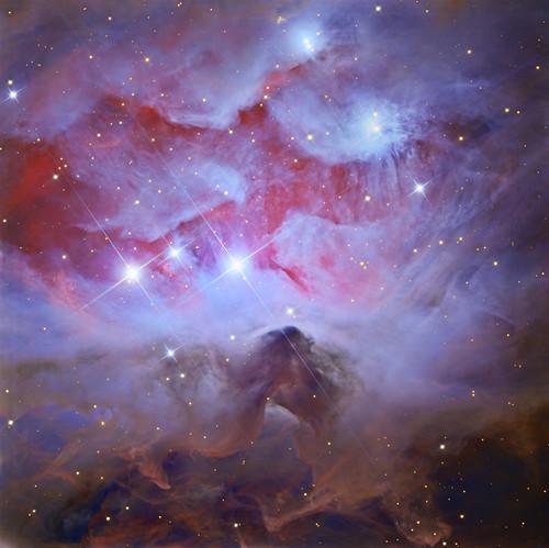 VCSE - Mai kép - NGC 1977 - APOD, Adam Block