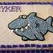 Shark cake by Christine and Addie, Linn County, IA, www.birthdaycakes4free.com