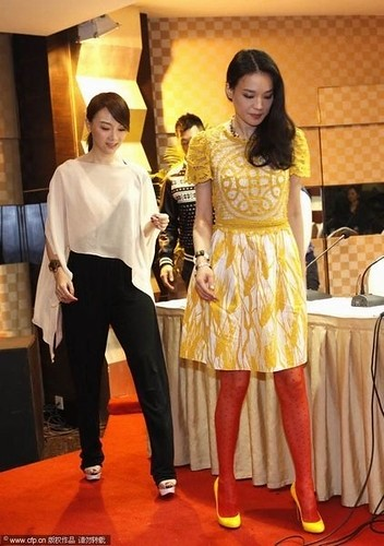 Actress-Shu Qi