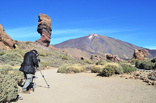 Roques de Garcia and Mount Teide, Tenerife